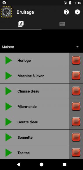 Bruitage screenshot 1